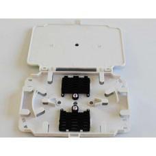 HTI 12/24 Core Fiber Optic Splice Tray attachable