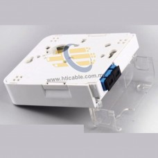 FTTH Fiber Optic Terminal Box / Junction Box / Fiber Optic Wall Socket - Duplex – Indoor Use (RDVTB)