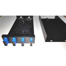HTI 4 Port for SC Simplex or Duplex LC/Fiber Optic Distribution Box / FTTH distribution box / LIU Box