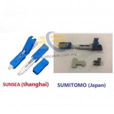 Sumitomo / Sunsea Fiber Optic One Click Fast Connector (SC Connector) [RDBRDVT]