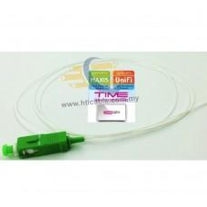 TM Test Passed Fiber Optic Pigtail SC/APC 9/125 Singlemode / Simplex 1.5Meter  [ODVTB]