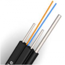 2 Core Self-support (Outdoor) Unifi / Fiber To The Home (FTTH) Aerial Flat Drop Cable (GJYXFCH) - 1m