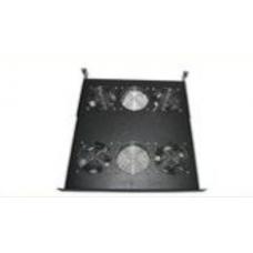 1U Rack Mountable Ventilation Fan Tray (2 Fan)