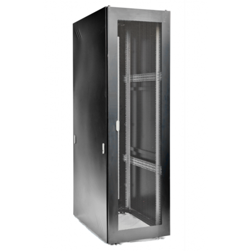 28U Floor Standing Rack Perforated Door