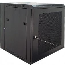 "12U Primestar 19"" Wall Mount Rack, Perforated Door"