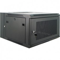 "9U Primestar 19"" Wall Mount Rack, Perforated Door"