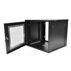 "6U Primestar 19"" Wall Mount Rack, Perspex Door (HOD)(HWD)"