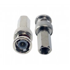 CCTV BNC MALE CONNECTOR TWIST-ON-TYPE - RG 59 TOT