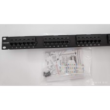 Commscope/AMP UTP CAT 5E Patch Panel 1U-24 Ports (EDR)