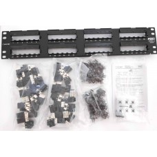 Commscope/AMP UTP CAT 6 Patch Panel 2U-48 Ports (WWVDR)