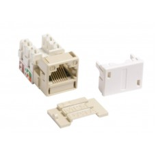 Commscope AMP® - SL-Series T568A/T568B Unshielded (UTP) RJ45 Cat 5e keystone Jack / Modular Jack (WDVTR)