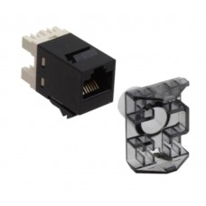 Commscope AMP® SL-Series T568A/T568B Unshielded (UTP) RJ45 Cat 6 keystone Jack / Modular Jack (RDVTR)