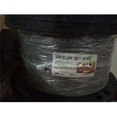 BELDEN (USA) 8760 SIGNAL CABLE / SCREEN AUDIO CABLE 2CORE 18AWG FRPVC 305METER / 1000 FEET TINNED COPPER (GREY/CHROME)